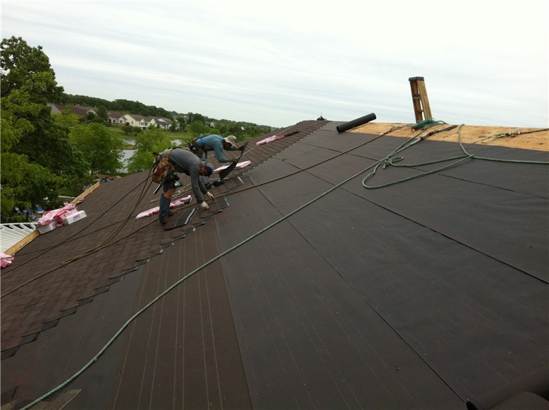 Replacing Shingles